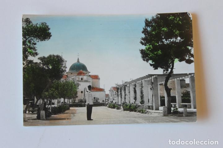 POSTAL SAN JAVIER, MURCIA VISTA PARCIAL, COLOREADA, MILITAR (Postales - España - Murcia Moderna (desde 1.940))