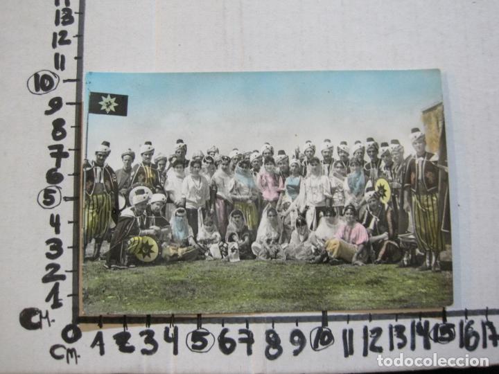 Postales: CARAVACA DE LA CRUZ-KABILA DRAGONES ROJOS-BANDO MORO-FOTO MORENILLA-POSTAL ANTIGUA-(74.194) - Foto 5 - 219232075
