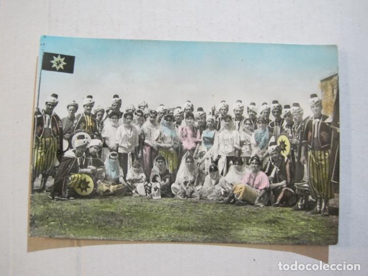 Postales: CARAVACA DE LA CRUZ-KABILA DRAGONES ROJOS-BANDO MORO-FOTO MORENILLA-POSTAL ANTIGUA-(74.194) - Foto 2 - 219232075