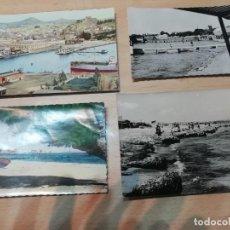 Cartes Postales: POSTALES DE MURCIA, CARTAGENA Y S PEDRO DEL PINATAR (9 UDS) AÑOS 60. Lote 220170336