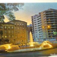 Cartes Postales: POSTAL CARTAGENA-NOCTURNA PLAZA A.BASTERRECHE. Lote 220304115