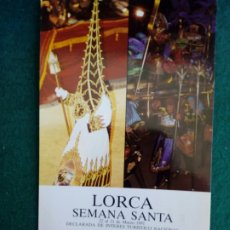 Postales: POSTAL DE LA SEMANA SANTA DE LORCA 1991. Lote 221395145