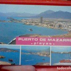 Postales: MAZARRON MURCIA ED CATALAN IBARZ 4026 MATASELLOS MAZARRON CIRCVLADA. Lote 221702025