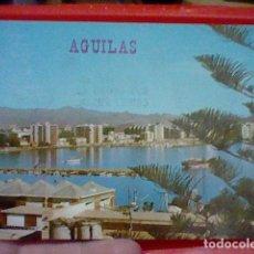 Postales: AGUILAS MURCIA PVERTO MATASELLOS AGUILAS POSTALES GALIANA SL Nº 26 CIRCVLADA AÑOS 80. Lote 221736926