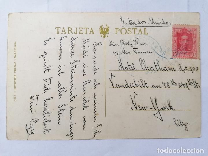 Postales: POSTAL MURCIA, BALNEARIO DE ARCHENA - VISTA PARCIAL, ESCRITA, AÑOS 30 - Foto 2 - 222275647