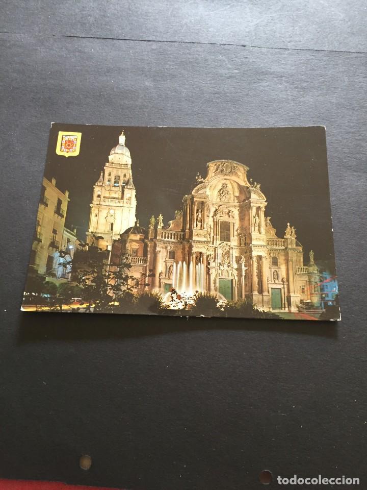 POSTAL DE MURCIA CATEDRAL - BONITAS VISTAS - LA DE LA FOTO VER TODAS MIS FOTOS Y POSTALES (Postales - España - Murcia Moderna (desde 1.940))