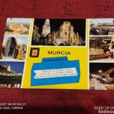 Postales: POSTAL SANTUARIO DE NTRA. SRA. DE LA FUENSANTA, CATEDRAL, PUENTE VIEJO, RUEDA DE LA ÑORA... (MURCIA). Lote 222511040
