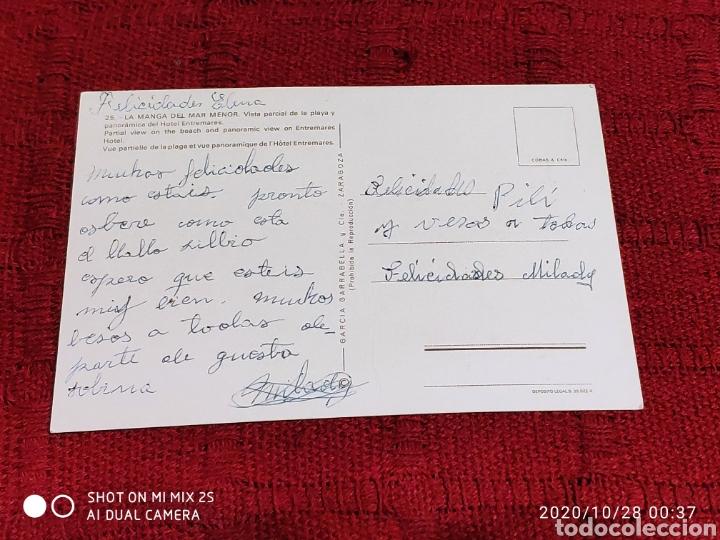 Postales: POSTAL LA MANGA DEL MAR MENOR, HOTEL ENTREMARES (MURCIA) - Foto 2 - 222511148