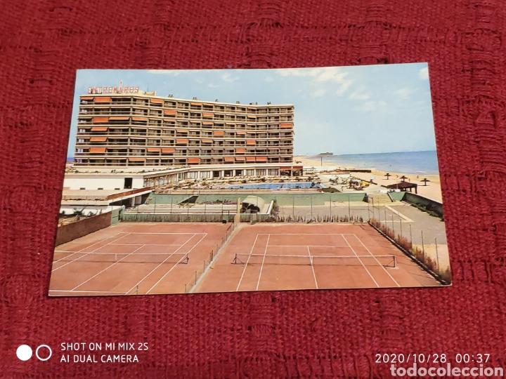 POSTAL LA MANGA DEL MAR MENOR, HOTEL ENTREMARES (MURCIA) (Postales - España - Murcia Moderna (desde 1.940))