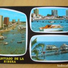 Postales: SANTIAGO DE LA RIBERA (MURCIA) - BELLEZAS DE LA CIUDAD. Lote 222696303