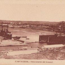 Cartes Postales: MURCIA CARTAGENA VISTA INTERIOR DEL ARSENAL. ED. J. CASAU. SIN CIRCULAR. Lote 224113963