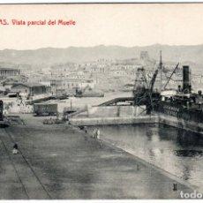 Postales: BONITA POSTAL - AGUILAS (MURCIA) - VISTA PARCIAL DEL MUELLE. Lote 224231815
