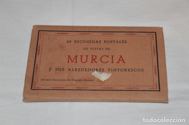 Postales: BLOC de 20 postales - MURCIA - Antiguas, buen estado, sin circular - ¡Mira fotos! - Foto 2 - 224380075