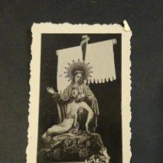 Cartes Postales: FOTOGRAFÍA VIRGEN DOLOROSA SEMANA SANTA CARTAGENA. CASAU.. Lote 224413770