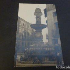 Postales: TOTANA MURCIA FUENTE DE LA PLAZA POSTAL FOTOGRAFICA HACIA 1910. Lote 224818233