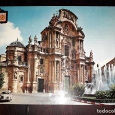 Postales: Nº 40815 POSTAL MURCIA FACHADA CATEDRAL. Lote 225154965