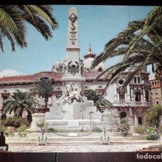 Postales: Nº 40818 POSTAL CARTAGENA MONUMENTO A LOS HEROES DE SANTIAGO Y CAVITE. Lote 225156747