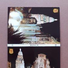 Postales: ALBUM DESPLEGABLE 10 POSTALES. SUBIRATS CASANOVAS. FISA. ESCUDO DE ORO. MURCIA.. Lote 227605510