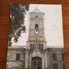 Postales: ANTIGUA POSTAL FACHADA PRINCIPAL LA SANTA DE TOTANA MURCIA RARA. Lote 227694530
