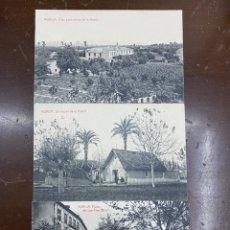 Postales: LOTE 3 POSTALES MURCIA. THOMAS. PLANO SAN FRANCISCO, RINCÓN HUERTA Y VISTA PANORÁMICA. SIN CIRCULAR.. Lote 227866260