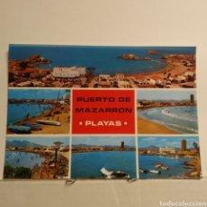Postales: PUERTO DE MAZARRÓN, MÚRCIA, 4024, PLAYADE BAHÍA Y LA REYA, BOYCER. Lote 227911530