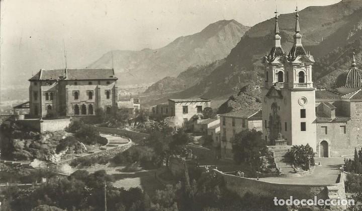 MURCIA. SANTUARIO DE NUESTRA SEÑORA DE LA FUENSANTA. ARRIBAS. 9X14 CM. BUEN ESTADO. (Postales - España - Murcia Moderna (desde 1.940))