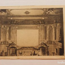 Cartoline: POSTAL CARTAGENA, GRAN CINE SPORT, 1928, VISTA DEL FRENTE Y ENTRADAS AL PATIO, J. DE HARO. Lote 230009050