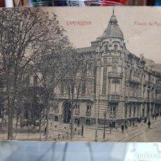 Postales: ANTIGUA POSTAL CARTAGENA MURCIA PALACIO DE AGUIRRE CASAU. Lote 233805920