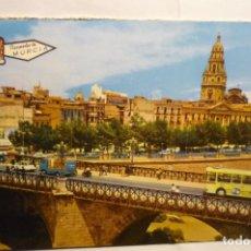 Postales: POSTAL MURCIA PUENTE ROMANO. Lote 235054530
