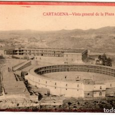 Postales: BONITA POSTAL - CARTAGENA (MURCIA) - VISTA GENERAL DE LA PLAZA DE TOROS. Lote 235334345