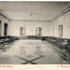 Postales: BONITA POSTAL - BALNEARIO DE FORTUNA (MURCIA) - SALON DE BAILE DEL CASINO. Lote 235344830