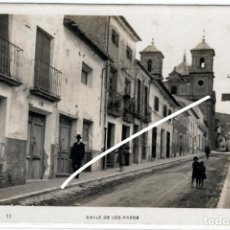 Postales: PRECIOSA POSTAL FOTOGRAFICA - JUMILLA (MURCIA) - CALLE DE LOS PASOS. Lote 235345730