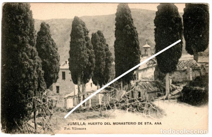PRECIOSA POSTAL - JUMILLA (MURCIA) - HUERTO DEL MONASTERIO DE STA. ANA - FOT. VILOMARA (Postales - España - Murcia Antigua (hasta 1.939))