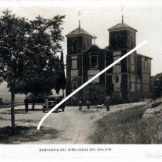 Postales: PRECIOSA POSTAL FOTOGRAFICA - MULA (MURCIA) - SANTUARIO DEL NIÑO JESUS DEL BALATE. Lote 235366715