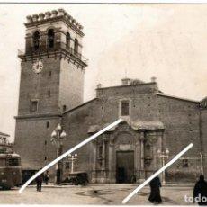Postales: PRECIOSA POSTAL FOTOGRAFICA - TOTANA (MURCIA) - IGLESIA PARROQUIAL Y PL. LOS MARTIRES. Lote 235368140