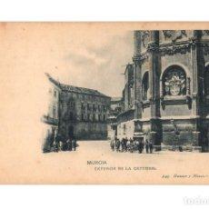 Postales: MURCIA.- EXTERIOR DE LA CATEDRAL.. Lote 235502145