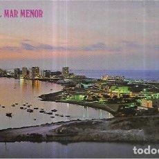 Postales: POSTAL * LA MANGA DEL MAR MENOR , ATARDECER *1980. Lote 235530045