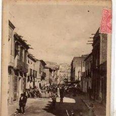 Postales: CALLE CANOVAS DEL CASTILLO. AGUILAS. MURCIA. CIRCULADA EN 1906.. Lote 235795100