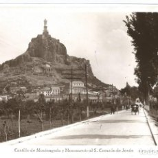 Postais: MURCIA - CASTILLO DE MONTEAGUDO Y MONUMENTO AL S.CORAZÓN DE JESÚS.. Lote 240850255