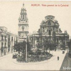 Postales: MURCIA. VISTA GENERAL DE LA CATEDRAL. FOTOTIPIA THOMAS.. Lote 241917220