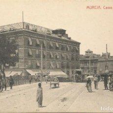 Postales: MURCIA - CASAS DE ZABALBURU - EDICIONES ANTONIO BELLIDO.. Lote 241917385