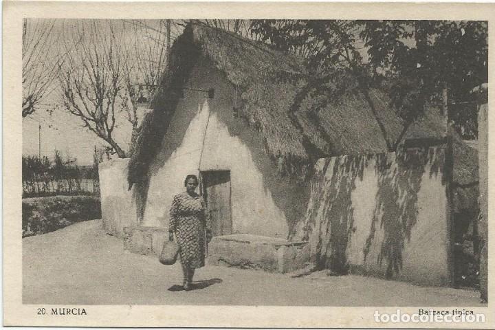 MURCIA. BARRACA TÍPICA.Nº20. EDICIÓN NOGUÉS. (Postales - España - Murcia Antigua (hasta 1.939))