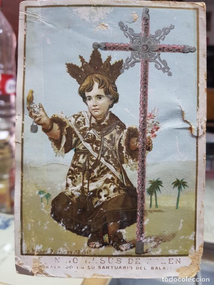 EL NIÑO JESUS DE BELEN SANTUARIO DEL BALATE MULA MURCIA Q (Postales - España - Murcia Antigua (hasta 1.939))