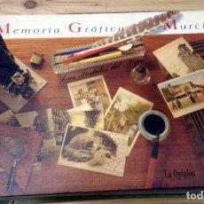 Postales: MEMORIA GRÁFICA DE MURCIA. LAS POSTALES DEL AYER. VARIOS AUTORES. Lote 245076975