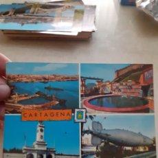 Postales: ANTIGUA POSTAL CARTAGENA CON SELLO Y MANUSCRITOS. Lote 245405700