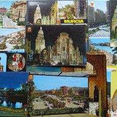 Postales: LOTE DE 15 POSTALES DE MURCIA, VER FOTOS. Lote 246444010