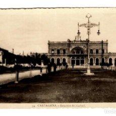 Cartes Postales: CARTAGENA - ESTACIÓN DE MADRID - FOTOS CASAÚ (14) - 141X90. Lote 246446445