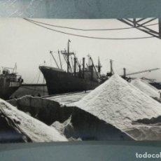 Postales: POSTAL Nº 6 TORREVIEJA - MUELLE CARGADERO DE LA SAL.. Lote 247223430