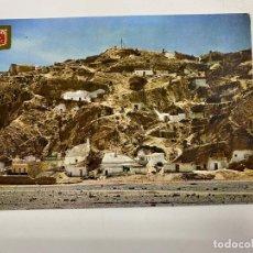 Postales: TARJETA POSTAL. MURCIA. Nº 5.- PUERTO LUMBRERAS. PANORÁMICA DE LAS CUEVAS. EDICIONES FISA.. Lote 251174260