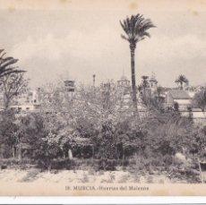 Postales: MURCIA, HUERTAS DEL MALECON. ED. FOTO ROISIN Nº 18. SIN CIRCULAR. Lote 254040775